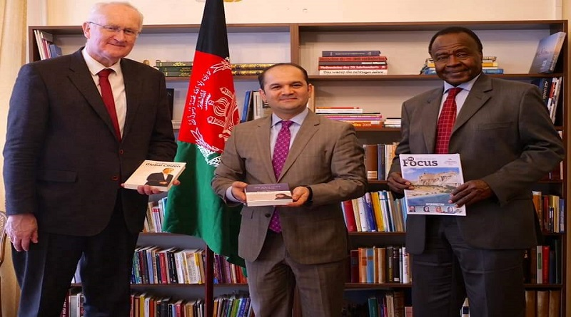 President of UNCAV and President of UPF visited Embassy & Permanent Mission of Afghanistan
